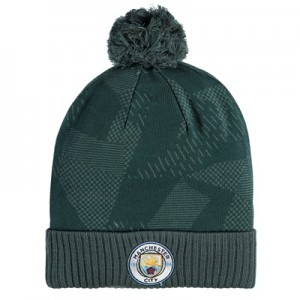 Manchester City Crest Beanie – Green All items
