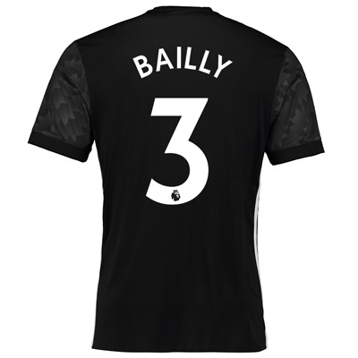 Manchester United Away Shirt 2017-18 with Bailly 3 printing All items