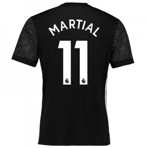 Manchester United Away Shirt 2017-18 with Martial 11 printing All items