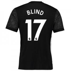 Manchester United Away Shirt 2017-18 with Blind 17 printing All items