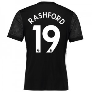 Manchester United Away Shirt 2017-18 with Rashford 19 printing All items