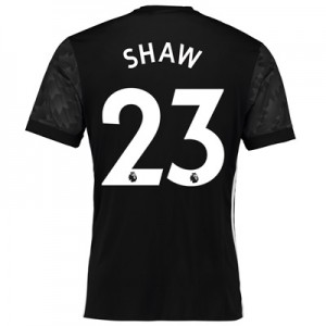 Manchester United Away Shirt 2017-18 with Shaw 23 printing All items