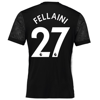 Manchester United Away Shirt 2017-18 with Fellaini 27 printing All items