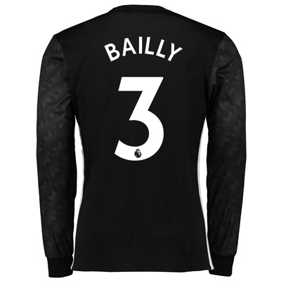 Manchester United Away Shirt 2017-18 – Long Sleeve with Bailly 3 print All items