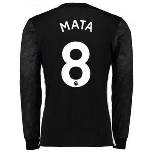 Manchester United Away Shirt 2017-18 – Long Sleeve with Mata 8 printin All items
