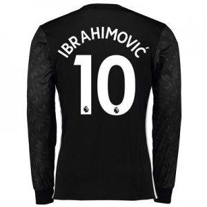Manchester United Away Shirt 2017-18 – Long Sleeve with Ibrahimovic 10 All items