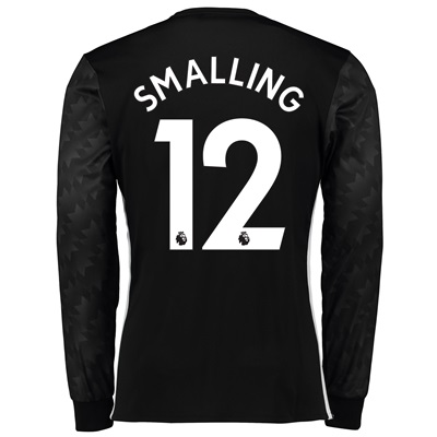 Manchester United Away Shirt 2017-18 – Long Sleeve with Smalling 12 pr All items