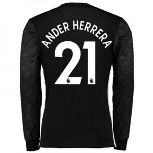 Manchester United Away Shirt 2017-18 – Long Sleeve with Ander Herrera All items