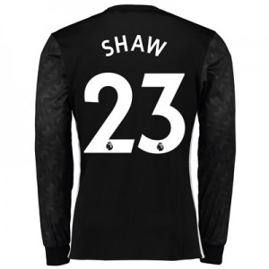 Manchester United Away Shirt 2017-18 – Long Sleeve with Shaw 23 printi All items