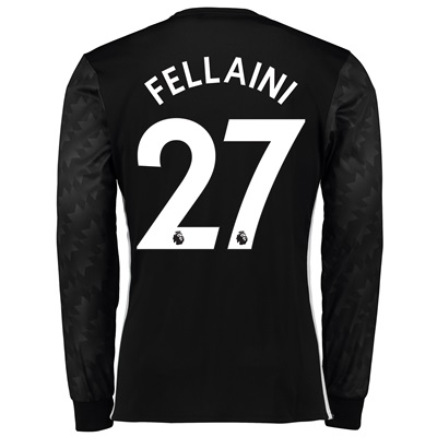 Manchester United Away Shirt 2017-18 – Long Sleeve with Fellaini 27 pr All items