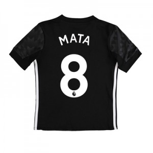 Manchester United Away Shirt 2017-18 – Kids with Mata 8 printing All items