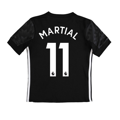Manchester United Away Shirt 2017-18 – Kids with Martial 11 printing All items