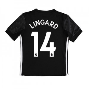 Manchester United Away Shirt 2017-18 – Kids with Lingard 14 printing All items