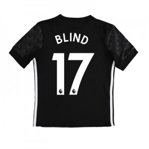 Manchester United Away Shirt 2017-18 – Kids with Blind 17 printing All items
