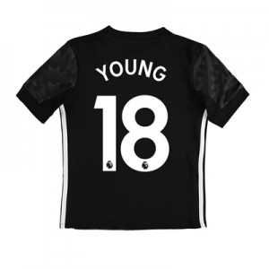 Manchester United Away Shirt 2017-18 – Kids with Young 18 printing All items