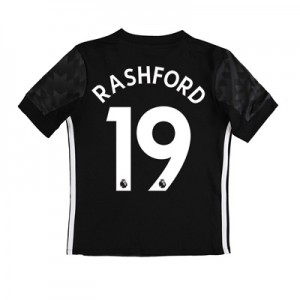 Manchester United Away Shirt 2017-18 – Kids with Rashford 19 printing All items