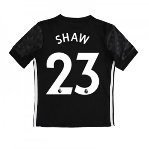 Manchester United Away Shirt 2017-18 – Kids with Shaw 23 printing All items