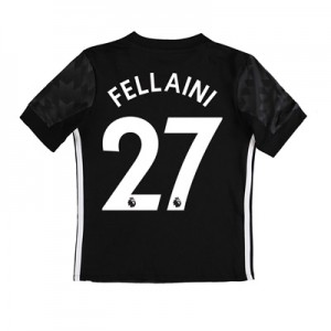 Manchester United Away Shirt 2017-18 – Kids with Fellaini 27 printing All items