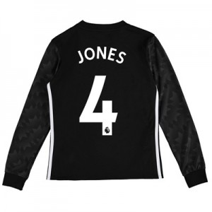 Manchester United Away Shirt 2017-18 – Kids – Long Sleeve with Jones 4 All items