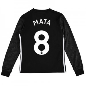 Manchester United Away Shirt 2017-18 – Kids – Long Sleeve with Mata 8 All items