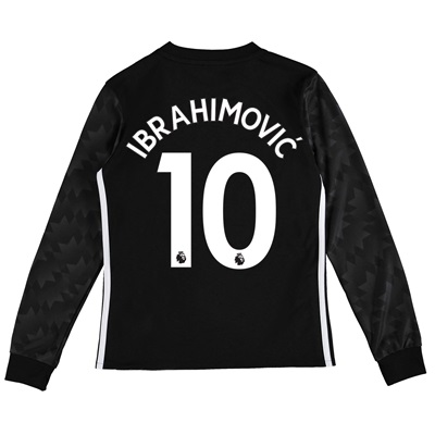 Manchester United Away Shirt 2017-18 – Kids – Long Sleeve with Ibrahim All items