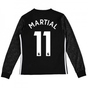 Manchester United Away Shirt 2017-18 – Kids – Long Sleeve with Martial All items