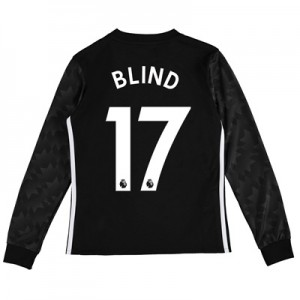 Manchester United Away Shirt 2017-18 – Kids – Long Sleeve with Blind 1 All items