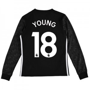 Manchester United Away Shirt 2017-18 – Kids – Long Sleeve with Young 1 All items