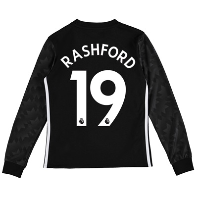 Manchester United Away Shirt 2017-18 – Kids – Long Sleeve with Rashfor All items