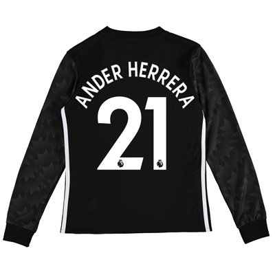 Manchester United Away Shirt 2017-18 – Kids – Long Sleeve with Ander H All items