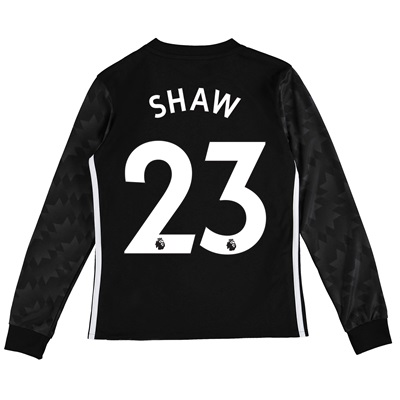 Manchester United Away Shirt 2017-18 – Kids – Long Sleeve with Shaw 23 All items