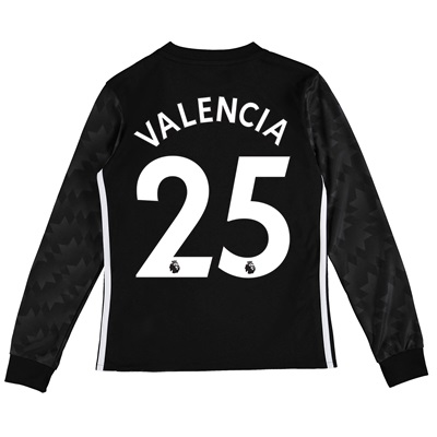 Manchester United Away Shirt 2017-18 – Kids – Long Sleeve with Valenci All items