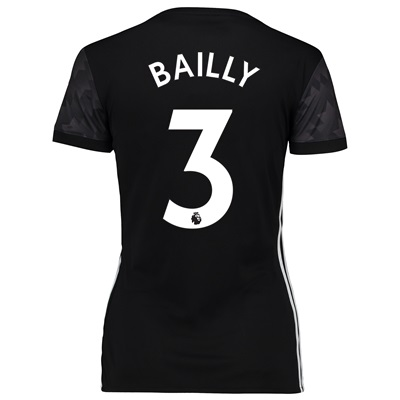 Manchester United Away Shirt 2017-18 – Womens with Bailly 3 printing All items