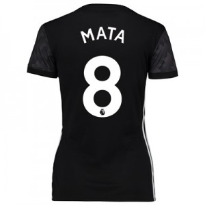 Manchester United Away Shirt 2017-18 – Womens with Mata 8 printing All items