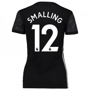 Manchester United Away Shirt 2017-18 – Womens with Smalling 12 printin All items