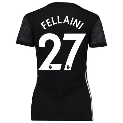 Manchester United Away Shirt 2017-18 – Womens with Fellaini 27 printin All items