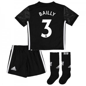 Manchester United Away Mini Kit 2017-18 with Bailly 3 printing All items