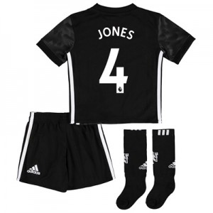 Manchester United Away Mini Kit 2017-18 with Jones 4 printing All items