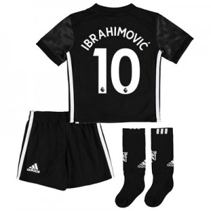 Manchester United Away Mini Kit 2017-18 with Ibrahimovic 10 printing All items