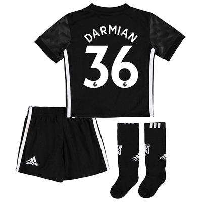 Manchester United Away Mini Kit 2017-18 with Darmian 36 printing All items