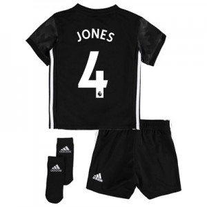 Manchester United Away Baby Kit 2017-18 with Jones 4 printing All items