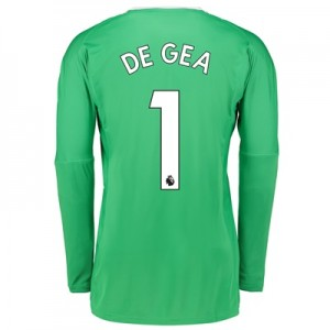 Manchester United Away Goalkeeper Shirt 2017-18 with De Gea 1 printing All items