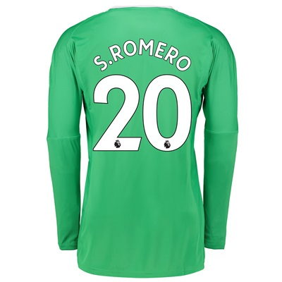 Manchester United Away Goalkeeper Shirt 2017-18 with S.Romero 20 print All items