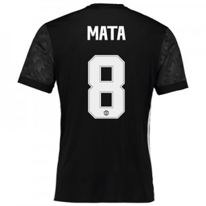 Manchester United Away Cup Shirt 2017-18 with Mata 8 printing All items