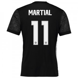 Manchester United Away Cup Shirt 2017-18 with Martial 11 printing All items