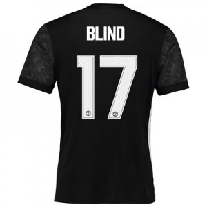 Manchester United Away Cup Shirt 2017-18 with Blind 17 printing All items