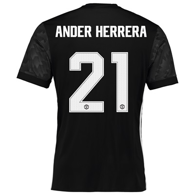 Manchester United Away Cup Shirt 2017-18 with Ander Herrera 21 printin All items