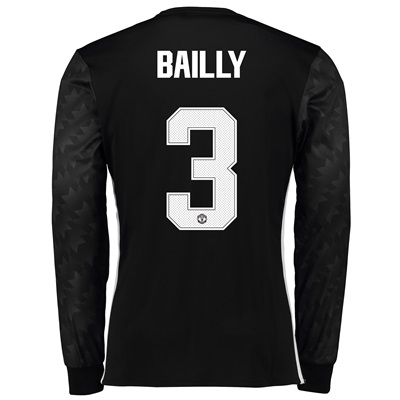 Manchester United Away Cup Shirt 2017-18 – Long Sleeve with Bailly 3 p All items