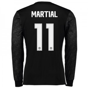 Manchester United Away Cup Shirt 2017-18 – Long Sleeve with Martial 11 All items