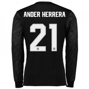 Manchester United Away Cup Shirt 2017-18 – Long Sleeve with Ander Herr All items